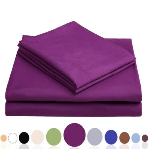 100% Cotton Bed Sheet Quilt Cover for 5 Stars Hotel