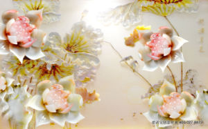 Good Luck Spring Blossom Fortune Comes with Blooming Flowers Corrugating Material Waterproof Corrugated Board Model No.: Wl-003 pictures & photos