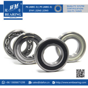 6209 2RS Low Friction Sealed Deep Groove Ball Bearing pictures & photos