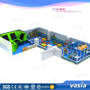Vasia New Design Trampoline Indoor Park with En71 Certificate (VS1-160427-150A-31A) pictures & photos