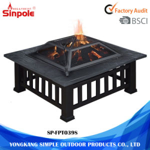 Wood Burning Steel Patio Outdoor Multifunctional Fire Pit pictures & photos