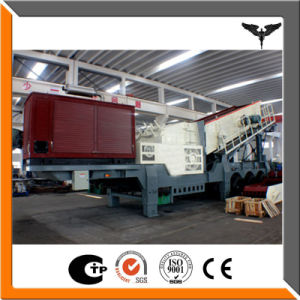 Jaw Crusher Mobile Station/Mobile Stone Concrete Crushing Plant pictures & photos
