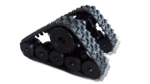 Triangle Assembly Rubber Crawler for Wheel Vehicle pictures & photos