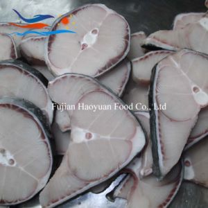Quality Seafood Skin on Blue Shark Steak pictures & photos