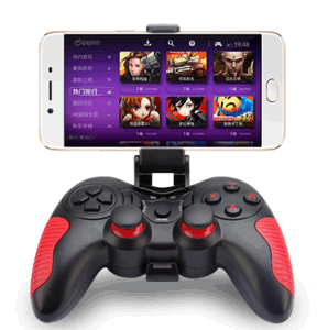 New Joystick Bluetooth Gamepad for Android TV Set with Double Vibration pictures & photos