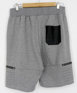 2017 Mens Zip Pocket Fashion Sweat Jogging Sports Shorts (P3251) pictures & photos