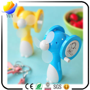 Customized Cartoon Mini Manual Fan for Promotion Gift pictures & photos