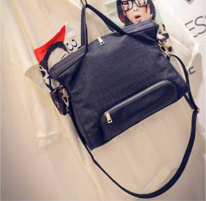 Alligator Casual Totes Boston Bag Famous Brand High Quality Women Handbags (BDMC108) pictures & photos