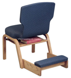 Wooden Stackable Padded Church Worship Pew Seating (4103) pictures & photos