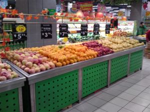 Fruits/Vegetables Display Promotion Stand pictures & photos