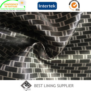 100 Polyetser Satin Dobby Lining Fabric Supplier Suit Lining pictures & photos
