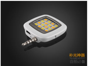 Manufacturer LED Mini Flash Fill Selfie Light Lamp Outdoor Lighting for Mobile Phone pictures & photos