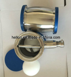 Sanitary Stainless Steel Ball Type Check Valve with Drain pictures & photos