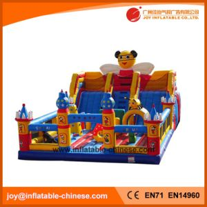 2017 New Design Giantinflatable Obstacle Course Funcity (T6-013) pictures & photos