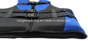 Neoprene Life Jacket with Polyester Fabric (HX-V0001) pictures & photos