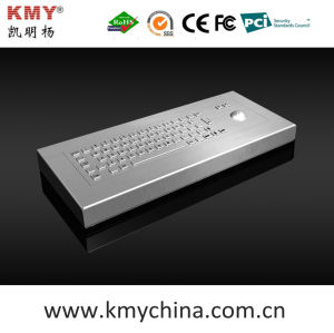 Waterproof IP65 Stainless Steel Desktop Keyboard (KMY299B-DESK) pictures & photos