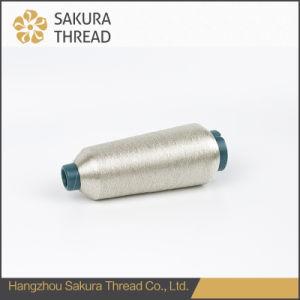 Sakura Polyester/Nylon/Rayon Metallic Yarn for Embroidery/Knitting/Weaving pictures & photos