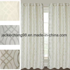 Jacquard Grommet Panel-Polyester Fabric Sft08wc010 pictures & photos