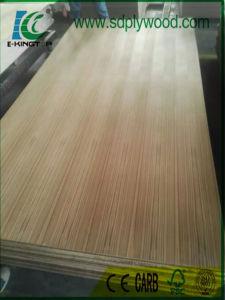 Fancy Plywood Burma Teak Straight Grain 3.6mm Hardwood Core pictures & photos