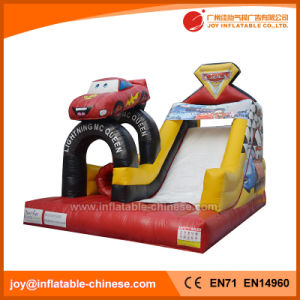 Inflatable Racing Car Bouncy Slide (T4-258) pictures & photos