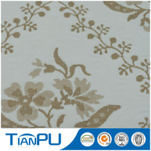 New Pattern High Quality Design 100% Polyester Flower Pattern Rayon Jacquard Fabric pictures & photos
