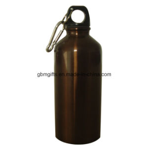 Stainless Steel Sports Water Bottle, Made of Aluminum, Various Colors and Patterns Are Available