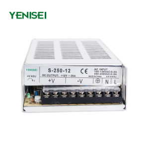 S-250-12 250W 12V Single Output Switching Power Supply pictures & photos