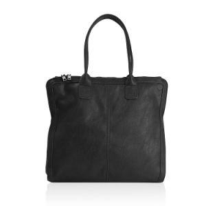 Black Simple Vintage Ladies Leisure Handbag pictures & photos