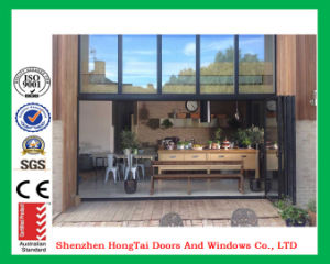 Customized Size Aluminum Bifold Door with As2047/As2208 Certification pictures & photos