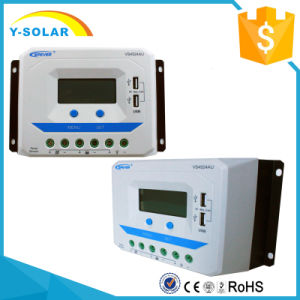 Epsolar 45A 12V/24V LCD Solar Controller with Dual USB Vs4524au pictures & photos