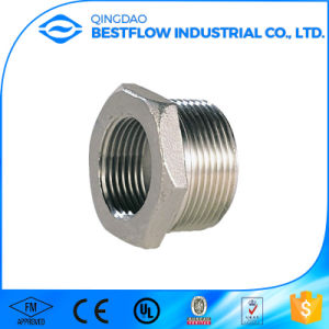 Stainless Steel Screw Pipe Fittings pictures & photos