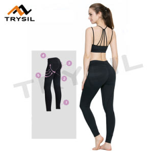 Sexy Tight Fitness Pants Slim Yoga Pants Fashion Gym Legging for Women pictures & photos