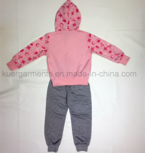 Spring/Autumn Kids Gril Sport Suit in Kids Clothes pictures & photos