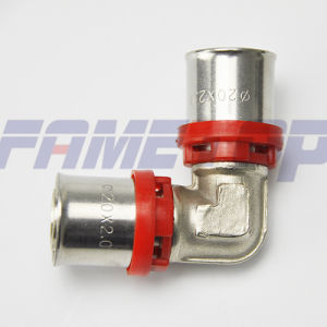 Brass Press Fitting for Pex-Al-Pex Pipe pictures & photos