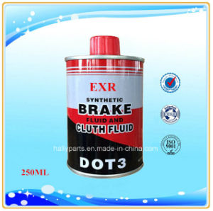 250 Ml Cans High Performance Synthetic DOT3 Brake Fluid pictures & photos