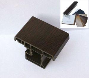 Wooden Grain Anti-UV Laminating PVC Foil for U-PVC Profiles pictures & photos