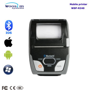 Wireless Bluetooth Mobile 58mm Thermal Receipt Printer pictures & photos