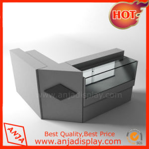 MDF and Glass Checkout Counter for Retail Shops pictures & photos