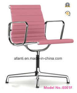Low Back Eames Modern Leather Aluminum Hotel Office Chair (E001B) pictures & photos