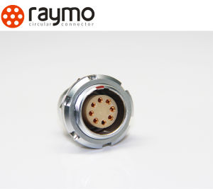 Raymo 1b Series ECG Fixed Socket 2pin 3pin 4pin...8pin 10pin 12pin 14 Pin 16pin Circular Cable Connector pictures & photos