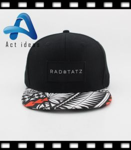 100% Cotton Custom Embroidery Black Promotional Hat pictures & photos