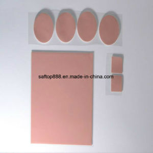 Ultra Light Thermal Silicone Conductive Pad Heat Sink Pad 4W for PCB pictures & photos