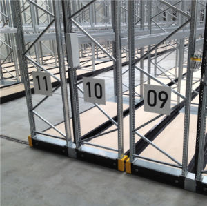 Automatic Movable Pallet Rack for High Density Storage pictures & photos