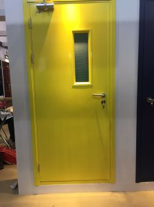 Steel Fire Door for Staircase Entrance pictures & photos