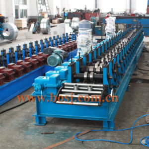 Galvanized Construction Scaffold Floor Panel Roll Forming Machine pictures & photos