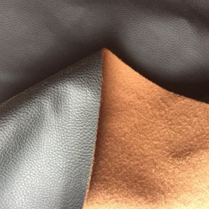 DMF Less Than 30ppm Non Solvent PU Leather for Furniture Sofa Car Seats pictures & photos