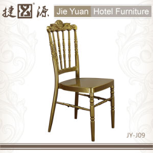 Elegant Aluminum Rental Banquet Chair for Wedding (JY-J09) pictures & photos