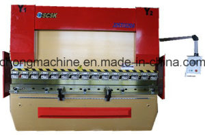Electro Hydraulic Servo CNC Synchronized Press Brake with Da52s System 225t/3200 pictures & photos
