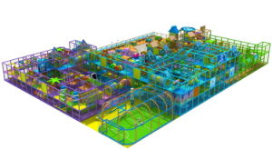 Large Indoor Playground Equipment for Play Centre pictures & photos