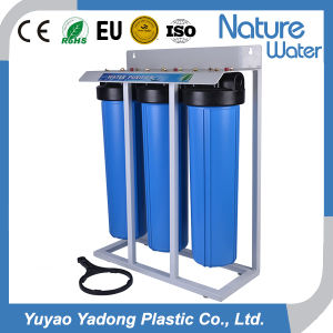 20′′ Big Blue 2 Stage Water Cartridge Filter Housing Manufacturer pictures & photos